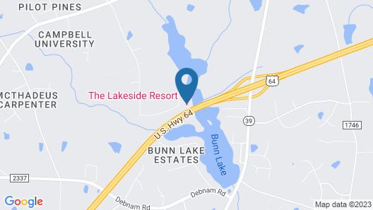 The Lakeside Resort Map