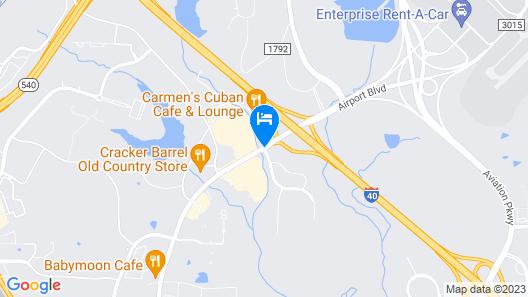 Microtel Inn by Wyndham Raleigh Durham Airport Map