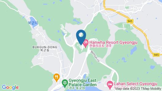 Kensington Resort Gyeongju Map