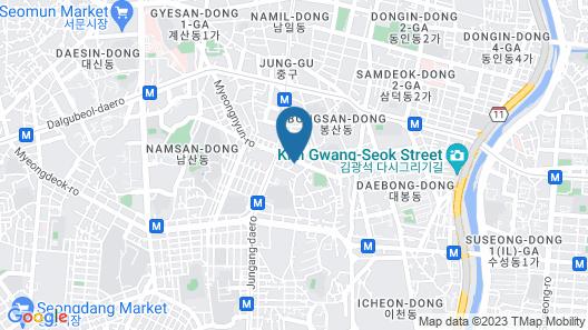 Sono Business Hotel Map