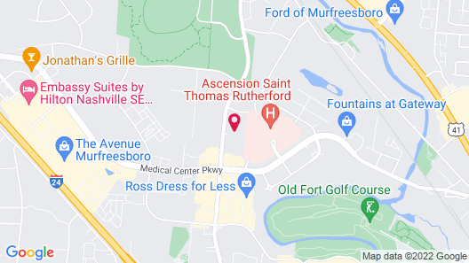 Candlewood Suites Murfreesboro, an IHG Hotel Map