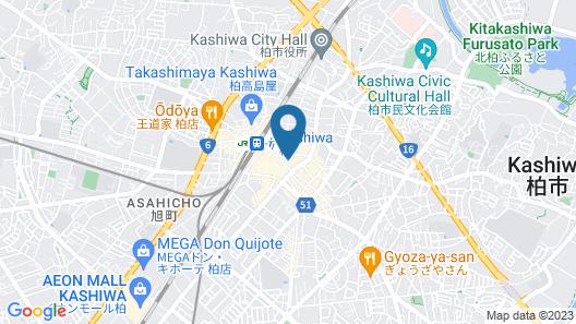 Sotetsu Fresa Inn Chiba Kashiwa Map