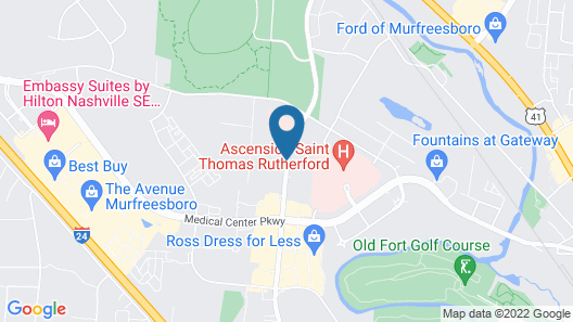 Tru by Hilton Murfreesboro Map