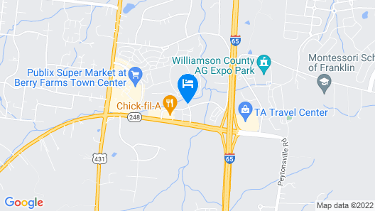 Residence Inn by Marriott Franklin Berry Farms Map