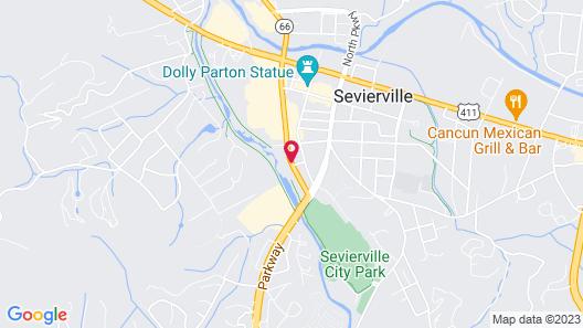 Riverview Inn & Suites Map