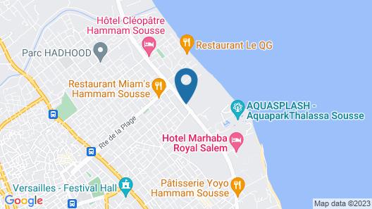 Marhaba Beach Map