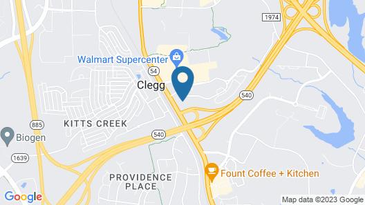 Waterwalk Raleigh RTP Map