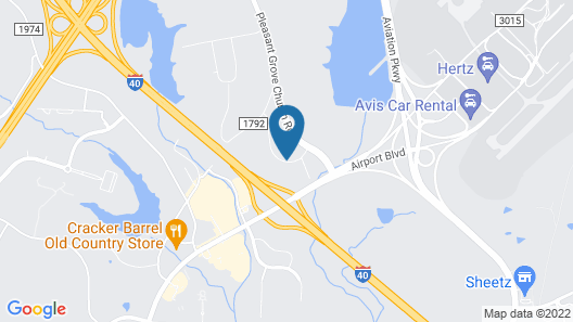 Country Inn & Suites by Radisson, Raleigh-Durham Airport, NC Map