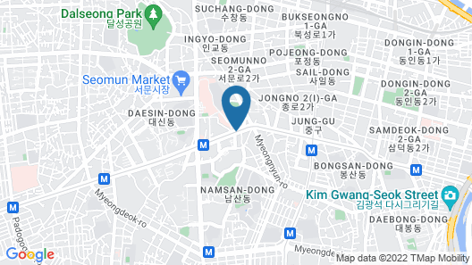 Eldis Regent Hotel Map