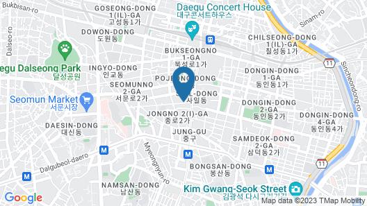 February Hotel Dongseongro Map