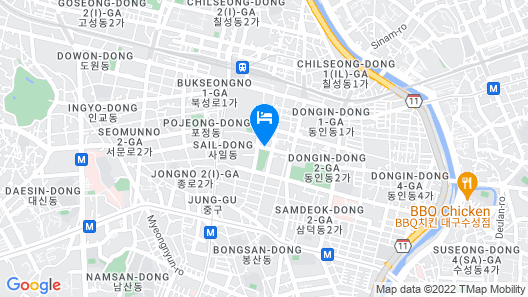 Novotel Ambassador Daegu Map