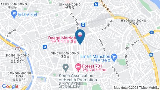 Daegu Marriott Hotel Map