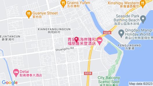 Four Points by Sheraton Qingdao, West Coast Map