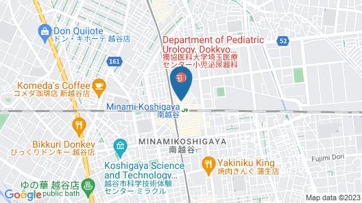 Taro's Hostel Minami Koshigaya Map