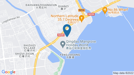 Mangrove Tree Resort World Qingdao (Red Coral) Map