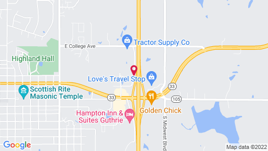 La Quinta Inn & Suites by Wyndham Guthrie Map