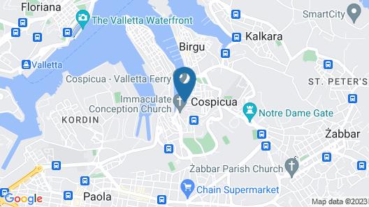 Casa Birmula Map