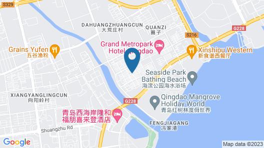Le Meridien Qingdao West Coast Resort Map