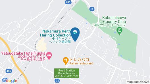 Lodge Keyspring Yatsugatake Map
