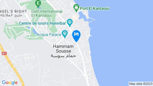 El Kantaoui Center and Spa Map