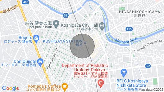 Nonsmoking Business Room 1 Person / Koshigaya Saitama Map