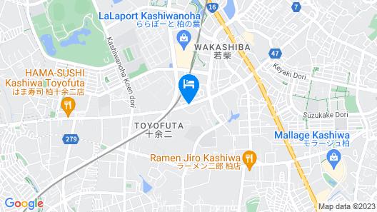 Hotel Sunoak Kashiwanoha Map