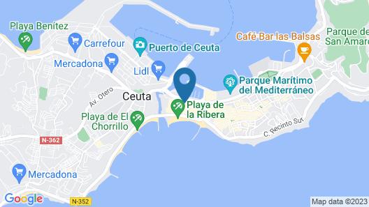 Hercules Boutique Hotel Map