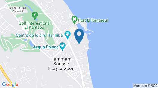 Hasdrubal Thalassa Port El Kantaoui Map
