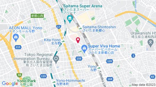 Hotel Brillante Musashino Map