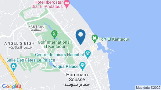 Agate Kanta Garden Resort Map