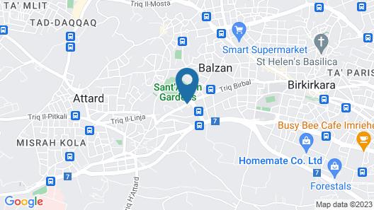Corinthia Palace Malta Map
