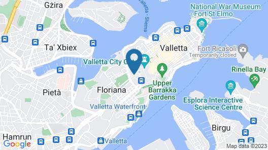 The Phoenicia Malta Map
