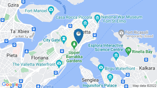 Grand Harbour Hotel Map