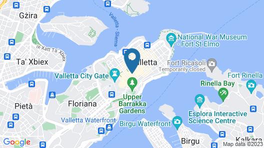 Jean De Valette Boutique Living Map