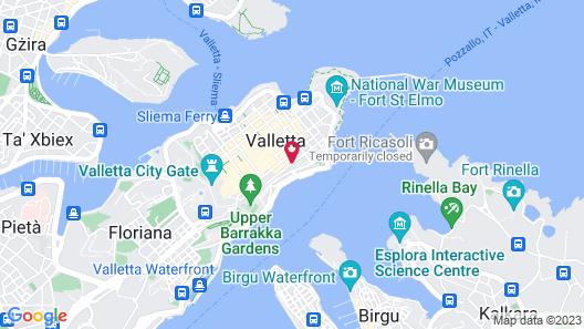 Ursulino Valletta Map