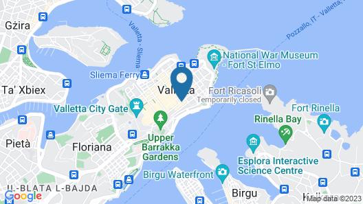 The Gomerino Hotel Map