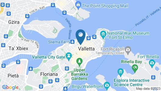 De Vilhena Boutique Hotel Map