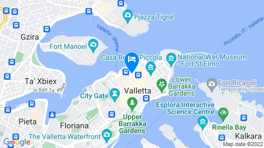Casa Ellul - Small Luxury Hotels of the World Map