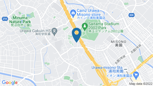 HOTEL WILL Urawa Map