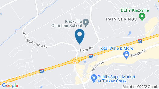 Holiday Inn Express & Suites Knoxville-Farragut, an IHG Hotel Map