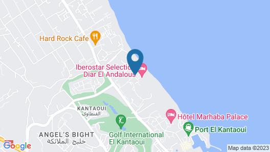 Iberostar Selection Diar El Andalus Map