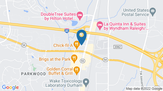 Sonesta Select Durham Research Triangle Park Map