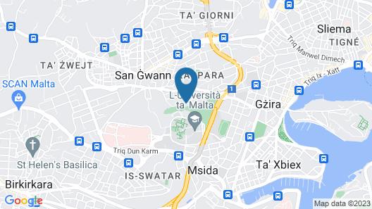 Urban Valley Resort Map