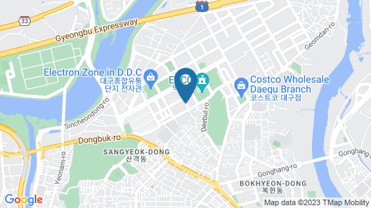 Inter Burgo Exco Hotel Map