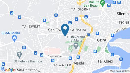 Hotel Kappara Map