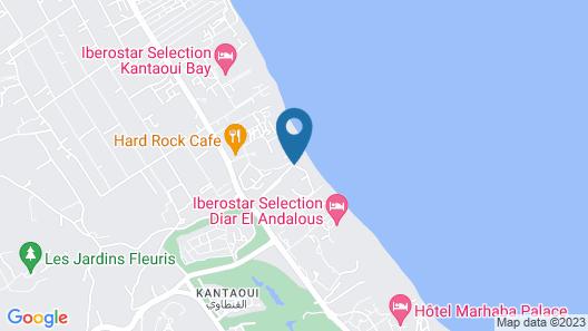 El Mouradi Port El Kantaoui Map