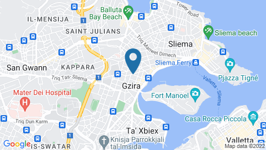 Blubay Apartments by ST Hotels Map