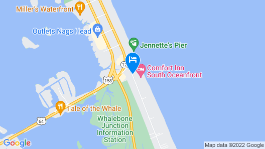 Dolphin Oceanfront Motel Map