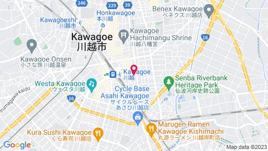 Kawagoe Dai-Ichi Hotel Map