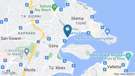 Hotel Kennedy Nova Map